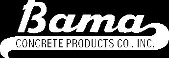 Bama Concrete Logo